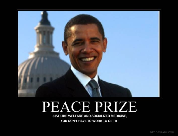 obamas nobel peace prize Obama's peace prize in jeopardy after hezbollah scandal by steven beyer leaders from israel are now calling on obama to give back his nobel peace prize.