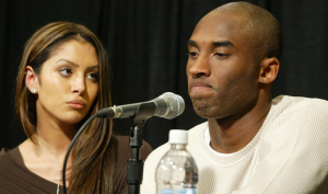 PHOTO Kobe-Bryant-Vanessa-press-conference