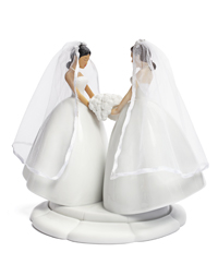 photo lesbian cake toppers